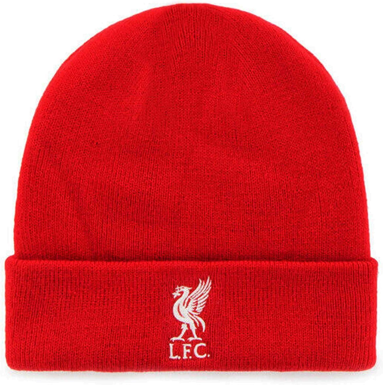 100/% Acrylique Bonnet Officiel Liverpool FC Premier League Bronx