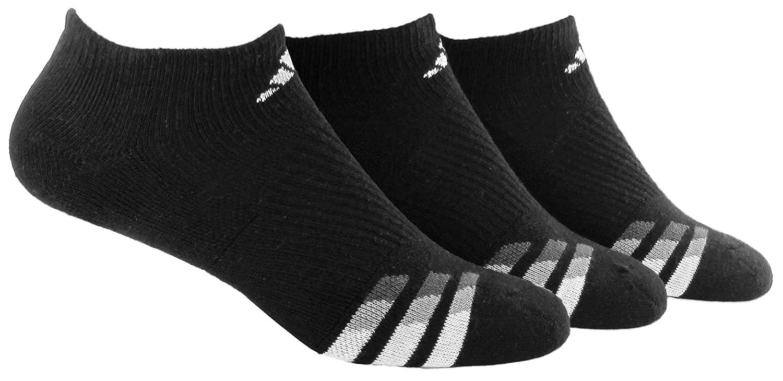 Mens Cushioned No Show Socks 3-Pack