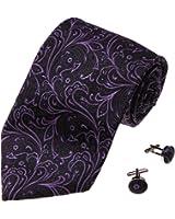 YAB1B11 Various of Colors Pattern Wedding Presents Mens Silk Tie 2PT By Y&G