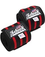 Schiek シーク リストラップ 24インチ フリーウェイトトレーニング用 (国内正規品)
