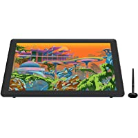 2020 HUION KAMVAS 22 Plus Graphics Drawing Tablet with Full-Laminated QD LCD Screen 140% s RGB Android Support Battery…