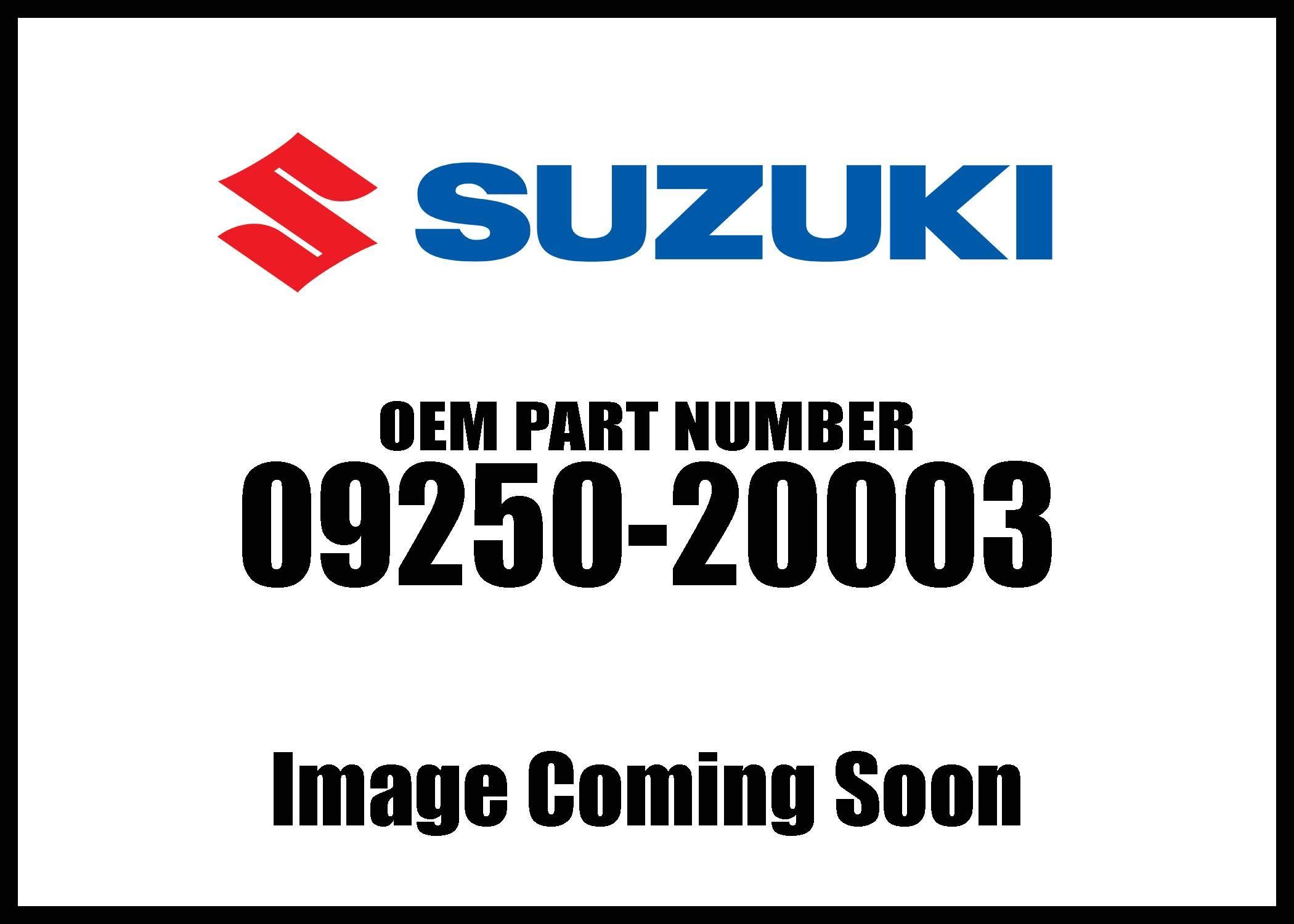 Suzuki 2005-2006 Quadsport 80 Pump Insp Hole 09250-20003 New Oem