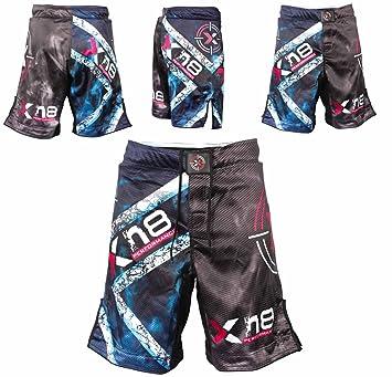 Pantalones cortos de MMA para boxeo, kick boxing, entrenamiento de ...