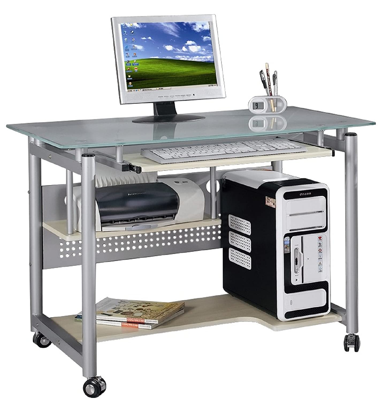 Yelloo Wheel Table de bureau et d'ordinateur design pour le salon ou la chambre WHEEL