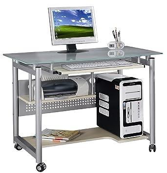 Modell WHEEL Computertisch Schreibtisch Fr Arbeitszimmer Wohnzimmer Bro