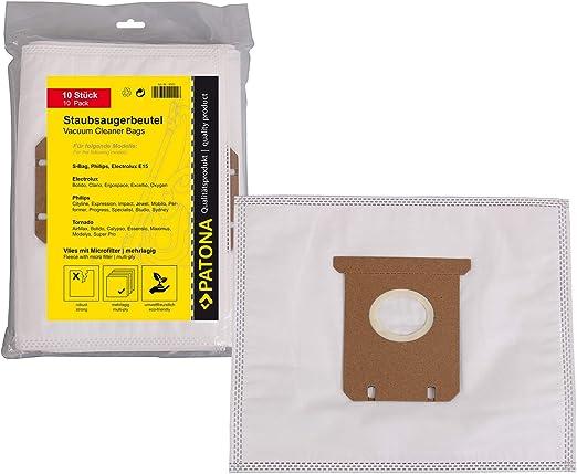 10x Bolsas de aspiradora para Philips HR 8300 8349-Expression, HR ...