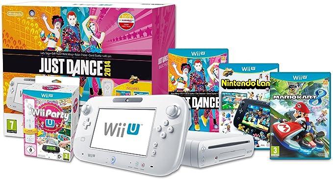 Wii U Basic Just Dance, Wii Party & Mario Kart 8 Pack [Importación ...