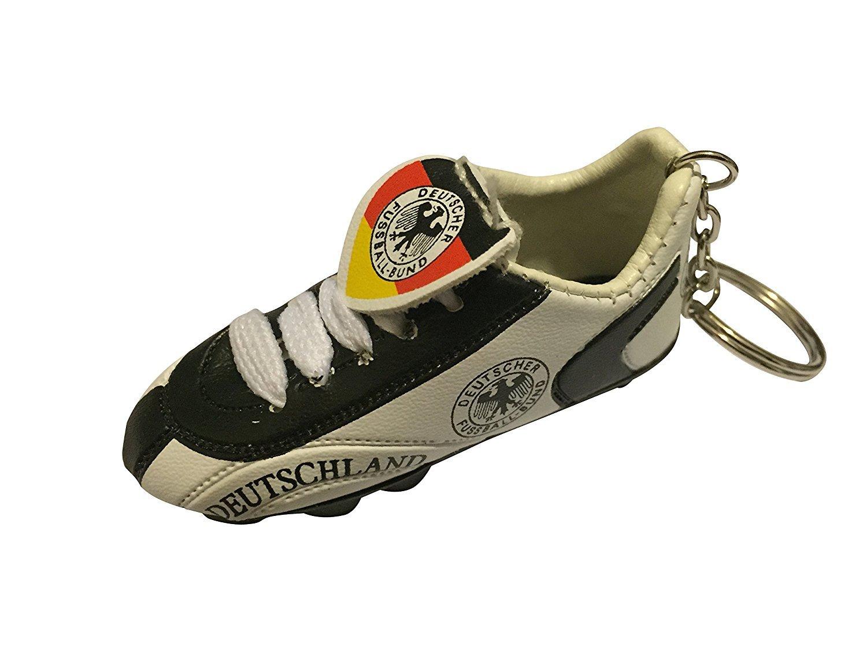 Football Soccer Futbol Mini Shoeキーチェーンキーリング – ヨーロッパ B00UXMAP7S 3パック|Country: Germany Country: Germany 3パック