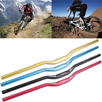 gugutogo reparto EMS – Manillar Riser de aleación de aluminio para bicicleta MTB Mountain Bike 31,8 x 780 mm) (Color Rojo): Amazon.es: Deportes y aire libre