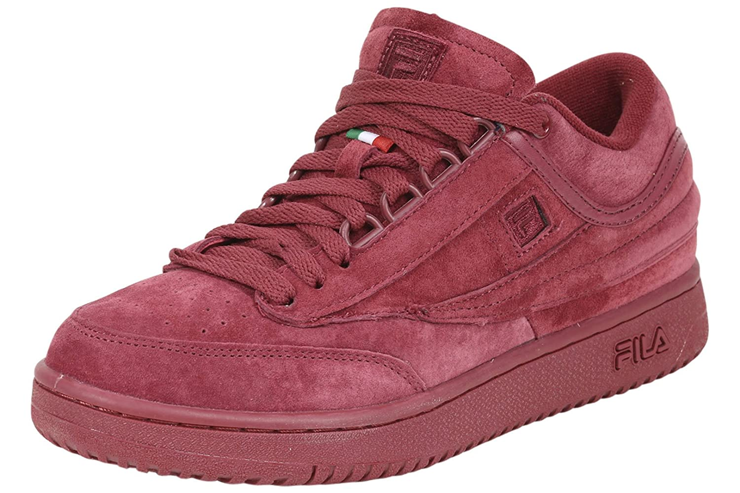 Buy Cheap Top Quality Fila T-1 Mid Premium Tennis Sneaker(Men's) -Biking Red/Biking Red/Biking Red Cheap Manchester Great Sale Cheap Authentic FpVOh0d