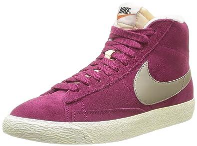 Nike Blazer Mid Suede Vintage 518171, Damen Hohe Sneakers  Amazon.de ... b7f216e7be