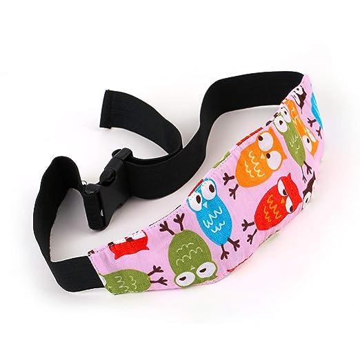 Zanasta Einstellbare Auto Kopfstütze Für Kinder Kindersitz Kopfband Schlafstütze Eulen Baby