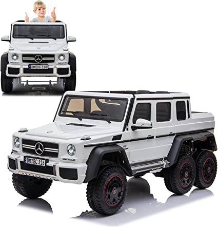 Kids Ride on Car 12V Electric Battery 2.4G Bluetooth Remote Control Benz Style