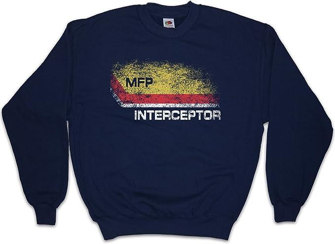 Urban Backwoods Inter I Main Force Patrol Logo Sudadera para Hombre Sweatshirt Pullover - Miller Fury Mad Road MAX Sudadera para Hombre Sweatshirt Pullover: ...