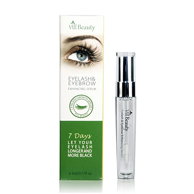 Top [Upgraded] Eyelash Growth Serum & Eyebrow Growth Serum - Enhancer Great For Growing - Thickening and Strengthening Of Eyelashes and Eyebrows 2017 New for cheap