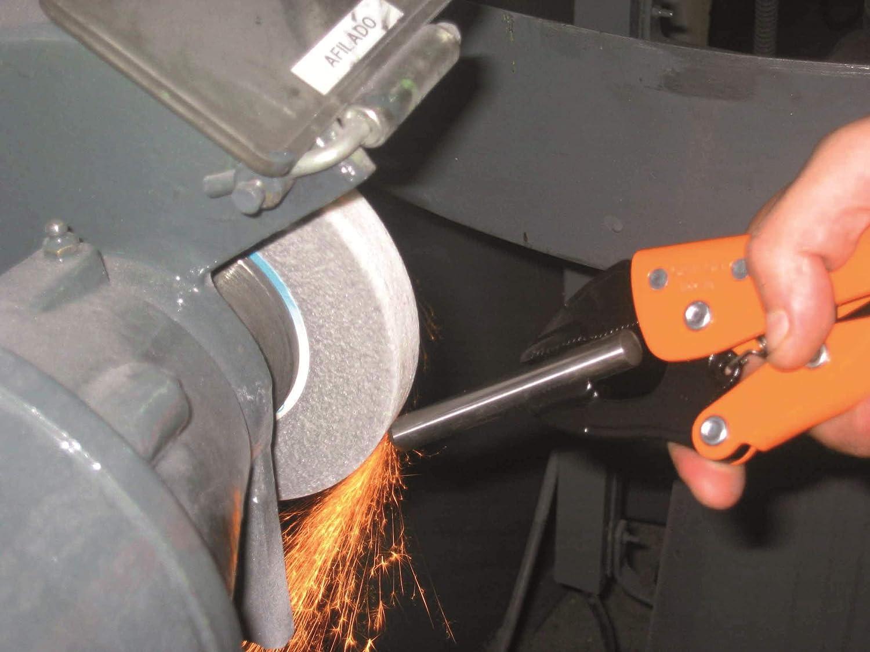 Grip-On 122-10-489 Backen Orange//Schwarz 10 Zoll
