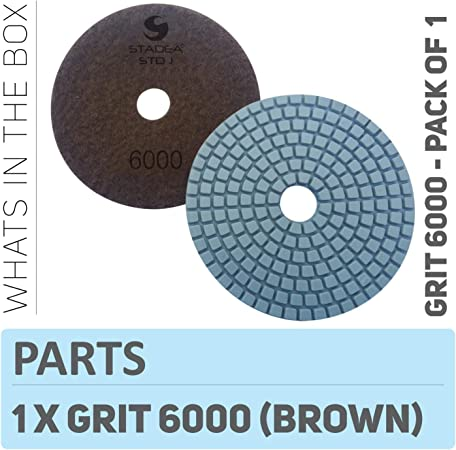 """Stadea 4/"""" Diamond Polishing Pads Wet For Marble Concrete and Granite Pack Of 160"""