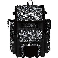 "Boombah Rolling Superpack 2.0 Venom Baseball/Softball Gear Bag - 23-1/2"" x 13-1/2"" x 9-1/2"" - Multiple Colors…"