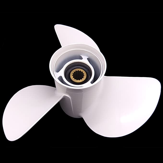 Amazon com: Boat Motor Aluminum Propeller 13 1/4x17-K for
