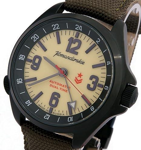 Vostok KOMANDIRSKIE K34 ruso Militar reloj 2426/476613: Amazon.es: Relojes