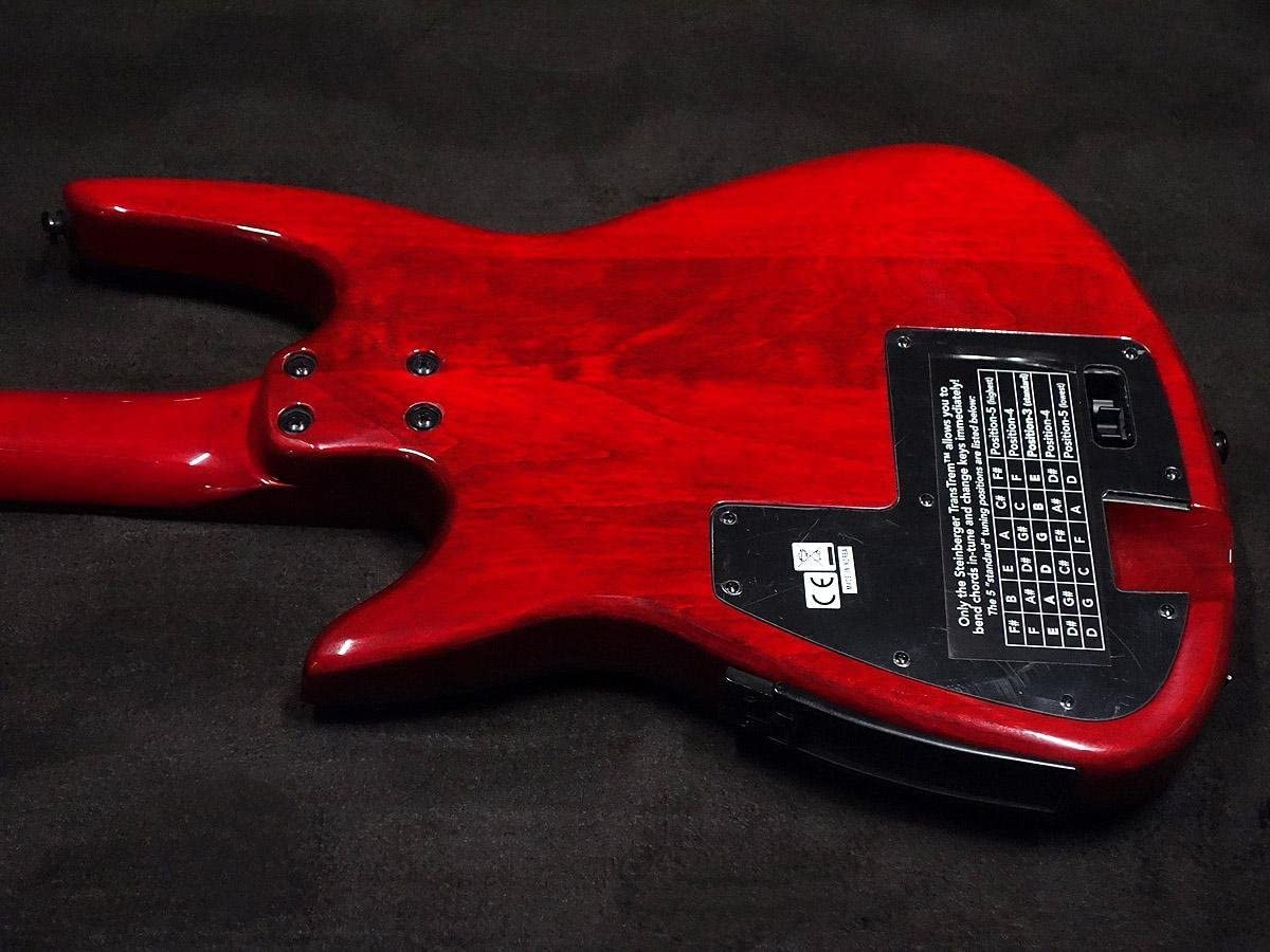Used Steinberger zt-3 Custom Trans rojo guitarra eléctrica: Amazon ...
