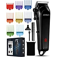 Epeios Hair Clippers for Men Professional Hair Trimmer Kits Set with 8 Colour Combs(0.5-25mm) Cordless Trimmer Electric…