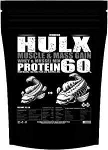 HULX Koi Fish Food Sinking Pellets for Big Muscle & Mass Weight Gain, Whey Mixed High Protein 60% Fast Growth Formula 1.5 Lb.(680 Gram.) 2mm, Healthy Nutrition Color Enhancer, Clear Water Pond Food