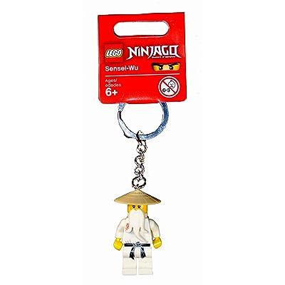 Ninjago Lego Year 2011 Series Key Chain Set # 853101 : Sensei-Wu Keychain: Toys & Games