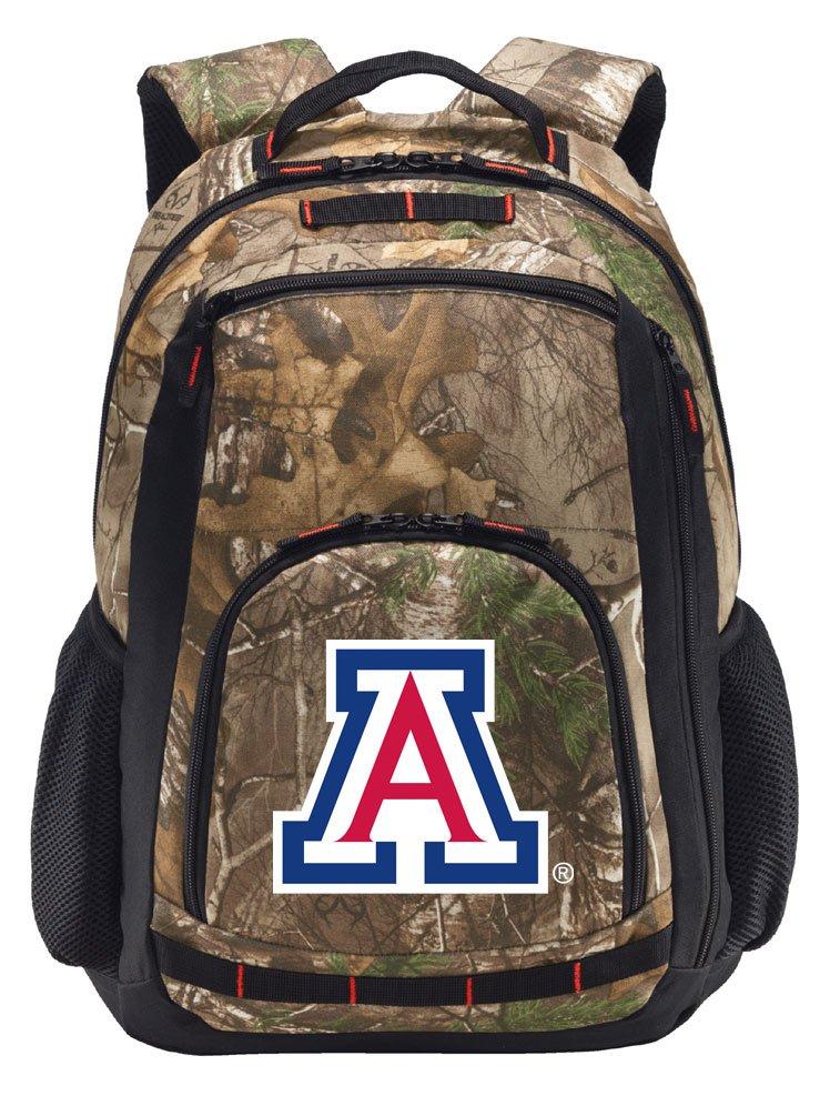 大学のアリゾナCamoバックパックリアルツリーArizona Wildcatsバックパック – セクション。   B01N8RZIZX