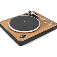 Marley Stir It Up Wireless Turntable - Sustainably Crafted Bamboo Record Player, Bluetooth Pairing, Recycled Rewind…