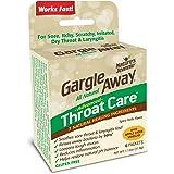 Gargle Away Comprehensive Throat Care, 6-PK | Natural cold throat remedy | Sore Throat | Laryngitis | Mucus Relief | Voice Remedy | Oral Thrush | LPR | Post Nasal Drip | Sinus Congestion