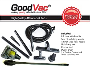 GOODVAC Deluxe Attachment Set Compatible with All Kirby Vacuum Cleaners from G5 and Later