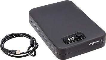 AmazonBasics - Caja fuerte portátil, cerradura de combinación, XL ...