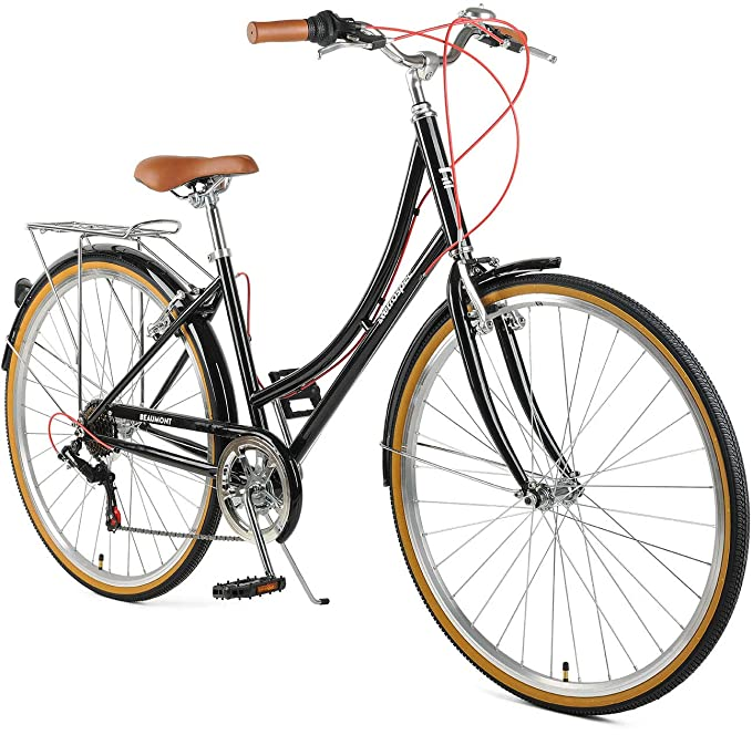 644381d64f3 Amazon.com : Retrospec Beaumont-7 Seven Speed Lady's Urban City Commuter  Bike : Sports & Outdoors