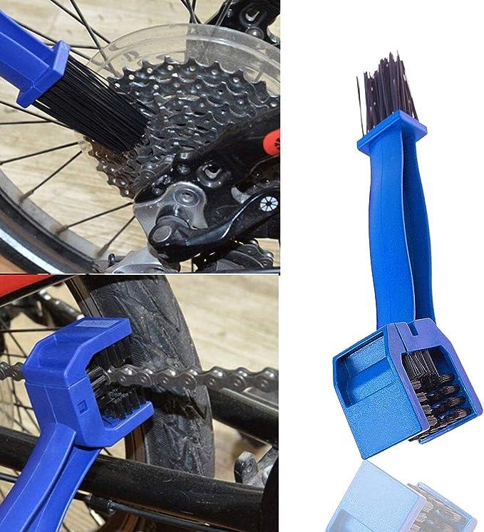 Killow 4 Pcs Limpiador de Cadena de Bicicleta ,Bici Herramienta ...