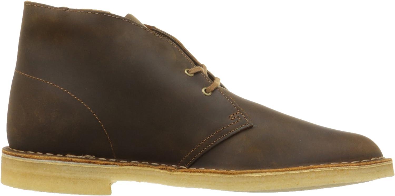 idioma Reunión voz  Amazon.com | CLARKS Men's Desert Boot, Beeswax Leather, US | Chukka