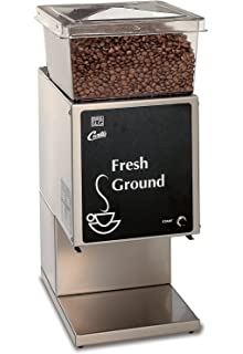 Wilbur Curtis Coffee Grinder 5.0 Lb Grinder With Single Hopper, Low Profile - Commercial Burr