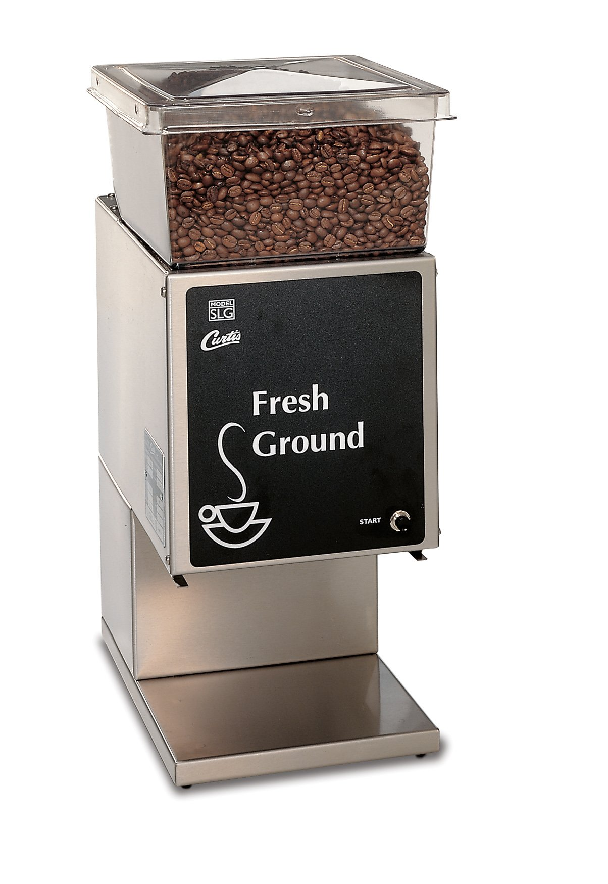 Wilbur Curtis Coffee Grinder 5.0 Lb Grinder With Single Hopper, Low Profile - Commercial Burr Grinder - SLG-10 (Each) by Wilbur Curtis