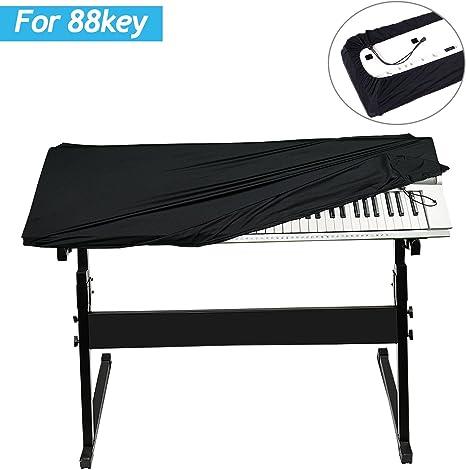 Gifort Funda Piano 88 Teclas, Cubierta para Teclado, Impermeable y ...