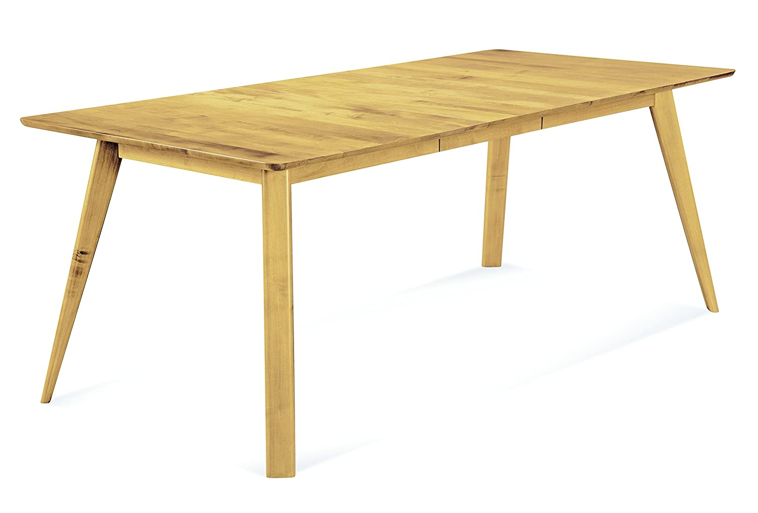 Saloom Furniture Alton Rectangular Maple Smooth Top Dining Table - 36 x 60 - Natural Finish