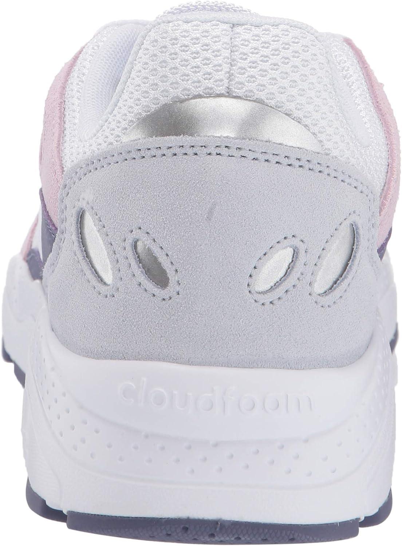 adidas Damen Chaos Turnschuh Weiß Weiß Aero Pink