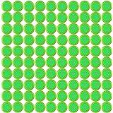 Dart Nachfüllpack, iTECHOR 100 Stück Refill Discs Disks Bullet Darts Spielzeugpistole für Nerf Vortex Reserve Blaster Praxis Nitron Vigilon Pronton