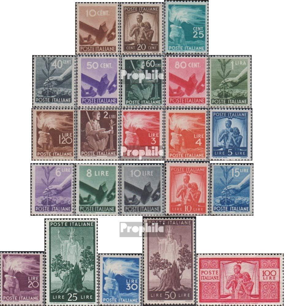 Prophila Collection Italia Michel.-No..: 682A-704A (Completa.edición.) 1945 Democracia (Sellos para los coleccionistas): Amazon.es: Juguetes y juegos