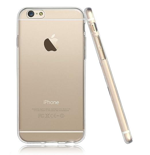 51 opinioni per Cover iPhone 5 5S, Custodia iPhone SE, UCMDA Silicone Trasparente Morbida Clear