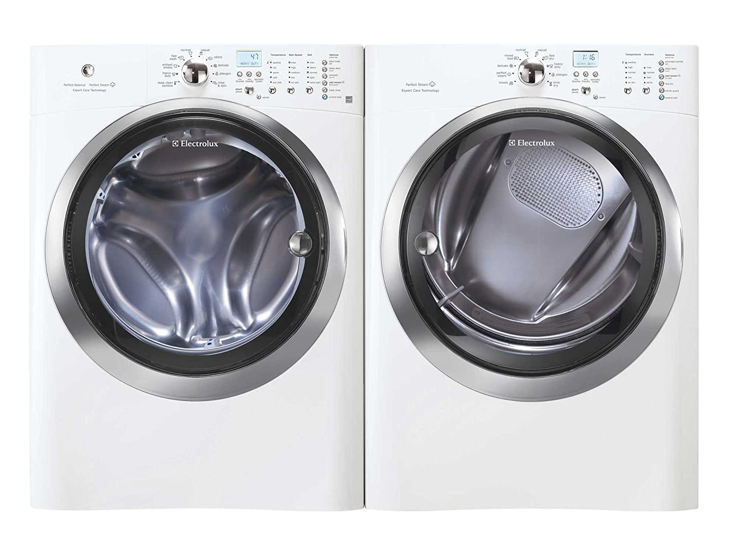 electrolux 24 washer. amazon.com: electrolux laundry bundle | eifls60jiw washer \u0026 eimed60jiw electric dryer - white: appliances 24 s