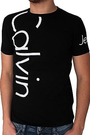 hot sale online 0a197 46b12 Calvin Klein – Maglietta da uomo a maniche corte con cmp13s