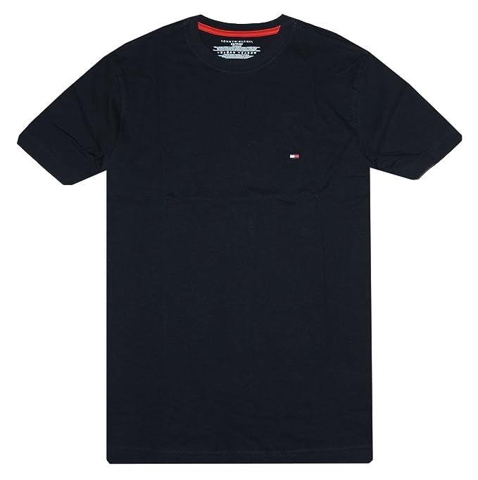 f2797e65 Tommy Hilfiger Men's Classic Fit T-Shirt: Amazon.ca: Clothing ...