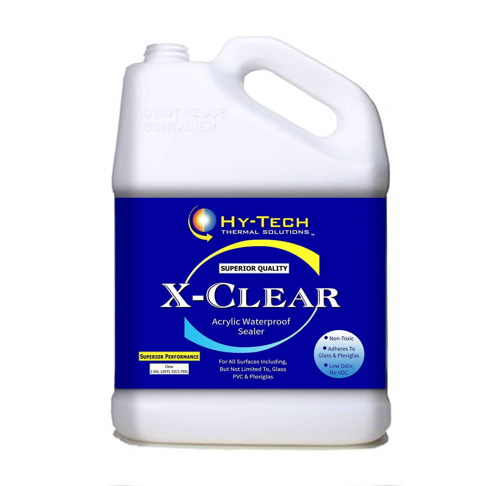X-Clear, Clear Acrylic Sealer - 1 Gallon by Hy-Tech Thermal Solutions