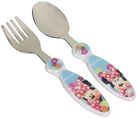 POS 423073 - Juego de tenedor y cuchara infantiles (2 piezas ...