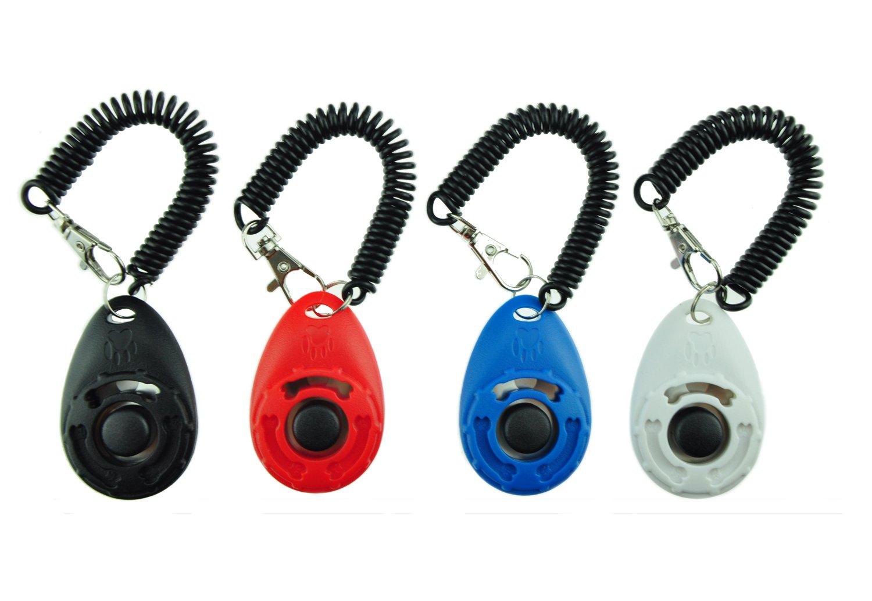 EcoCity リストストラップ 4-パックにバージョン犬 訓練 クリッカーをアップグレード B071NTVXN2